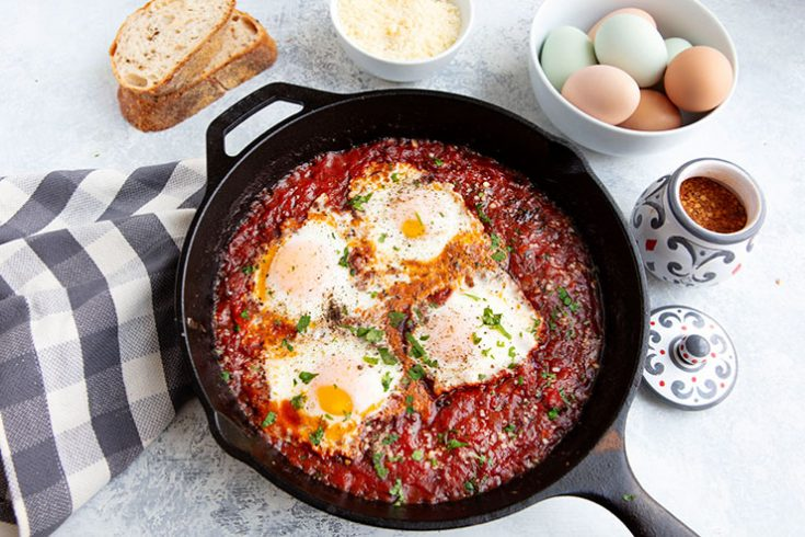 A quick and easy egg dish that can be a great mid-week option.