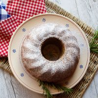 Rosemary Chocolate, Olive Oil Cake
