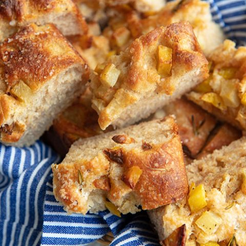 Mixed Grain Potato & Rosemary Focaccia