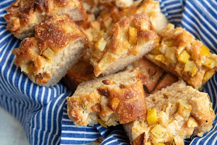 A SheWolf Detroit copycat recipes for their whole grain potato and rosemary focaccia.