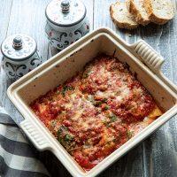 Chicken, Spinach, & Ricotta Manicotti
