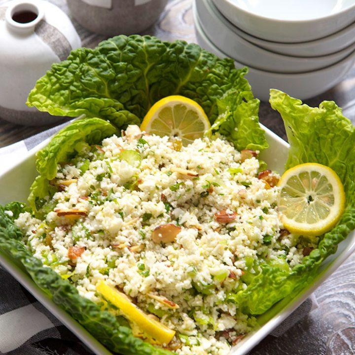 Lemony Cauliflower Salad