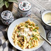 Pasta With Fava Beans & Guanciale