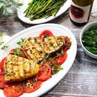 Grilled Swordfish With Oregano