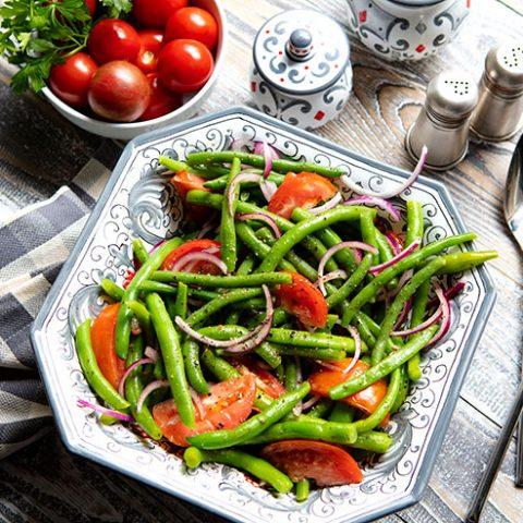 Green Bean & Tomato Salad
