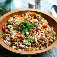 End of Summer Farro Salad