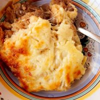 Baked Layered Onion Soup