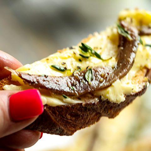 Anchovy Butter Bruschetta
