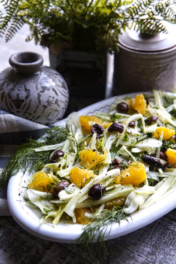 A refreshing raw salad from Sicily.