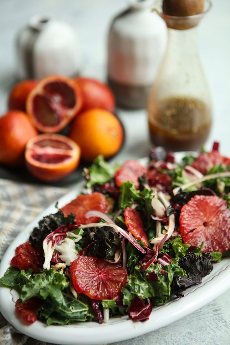 A vibrantly flavored salad that is packed full of superfoods.