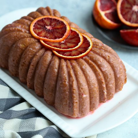 Blood Orange Loaf