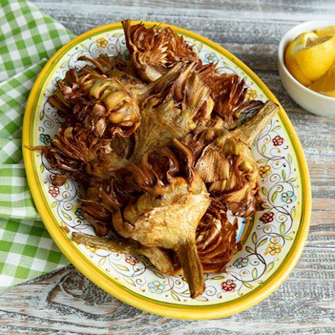 Jewish Fried Artichokes