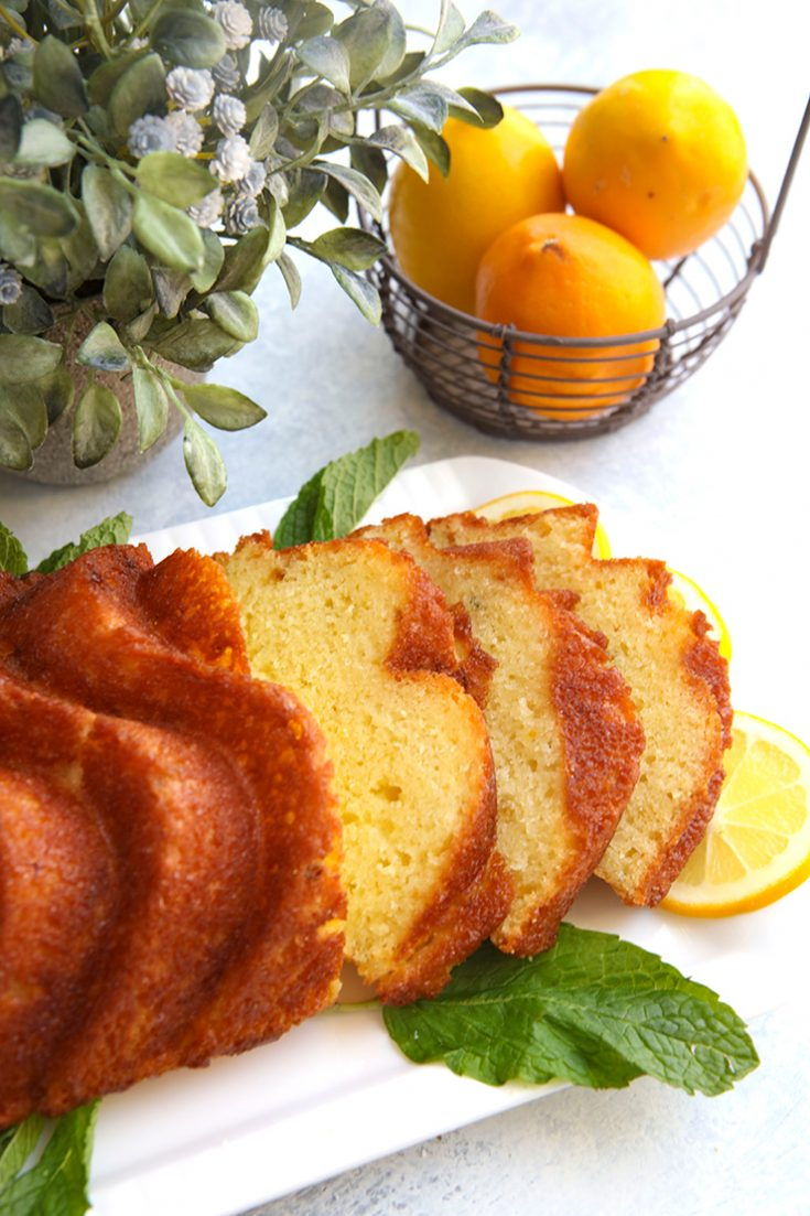 A moist, lemon flavored loaf with the subtle notes of fresh thyme.