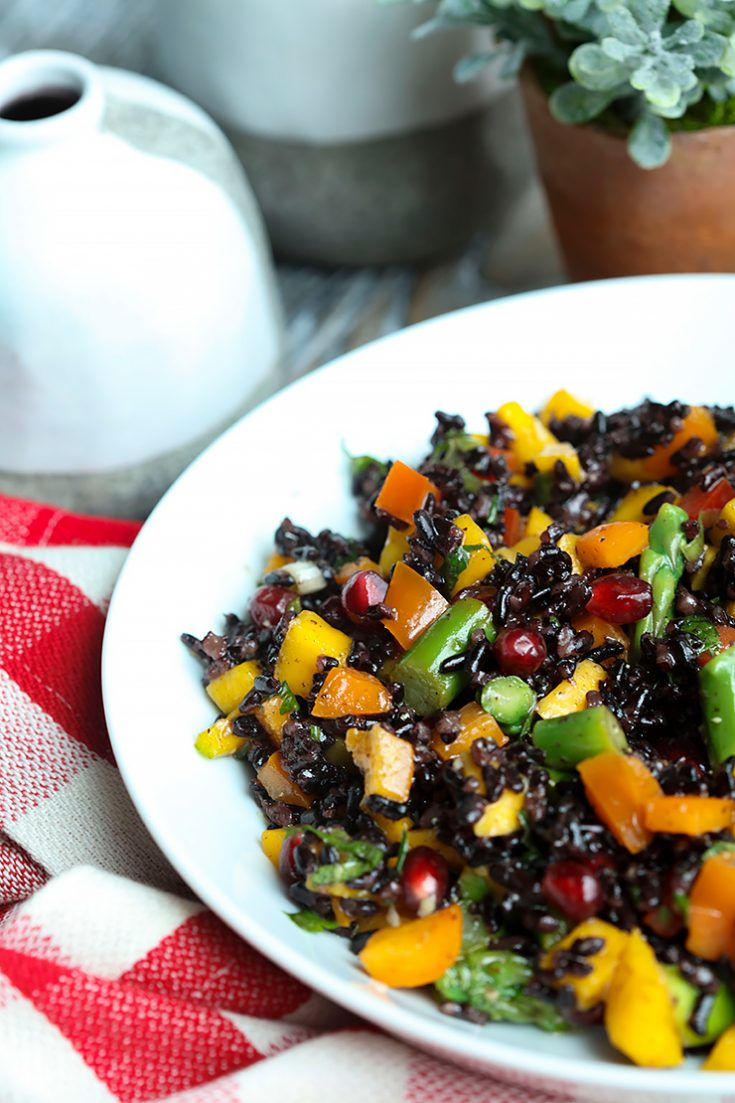 A colorful, crunchy salad packed full of flavor and nutrition.