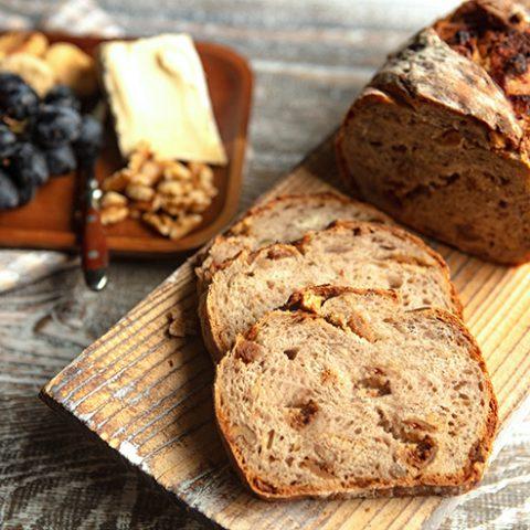 Fig & Walnut Sourdough Bread