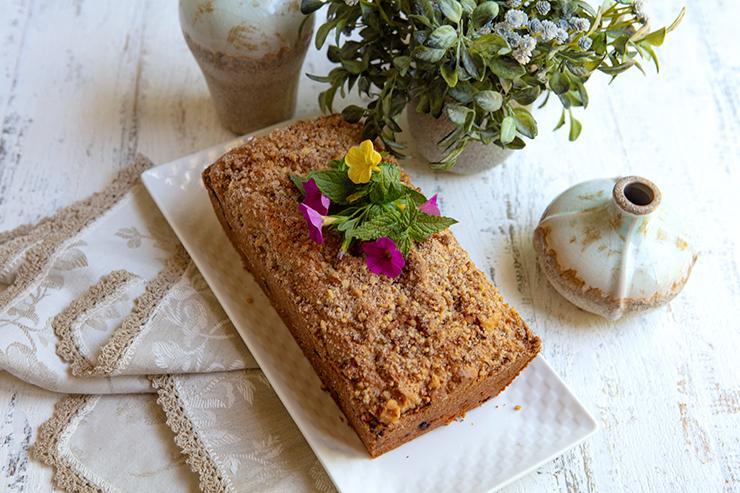 Travel Street Dish rhubarbloaf5 Cinnamon Rhubarb Quick Loaf | Italian Food Forever
